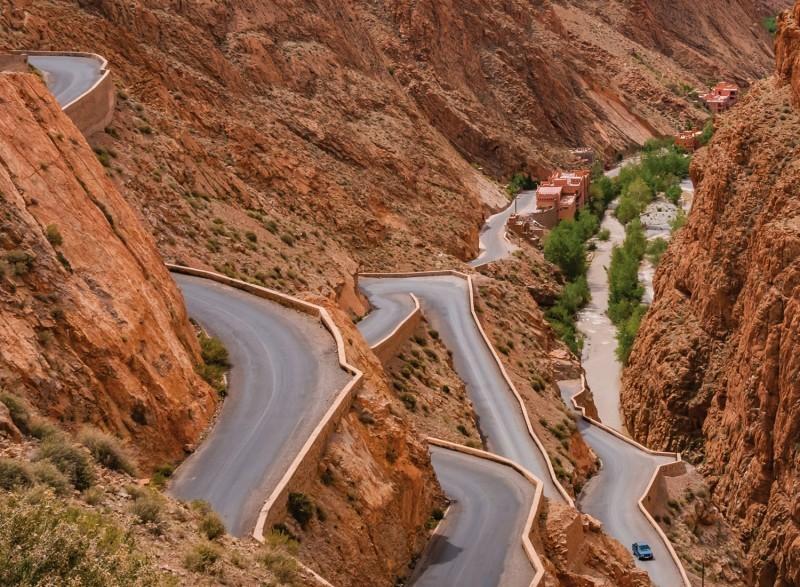 3 daagse privétour naar de woestijn van Merzouga via Dades Boumalne