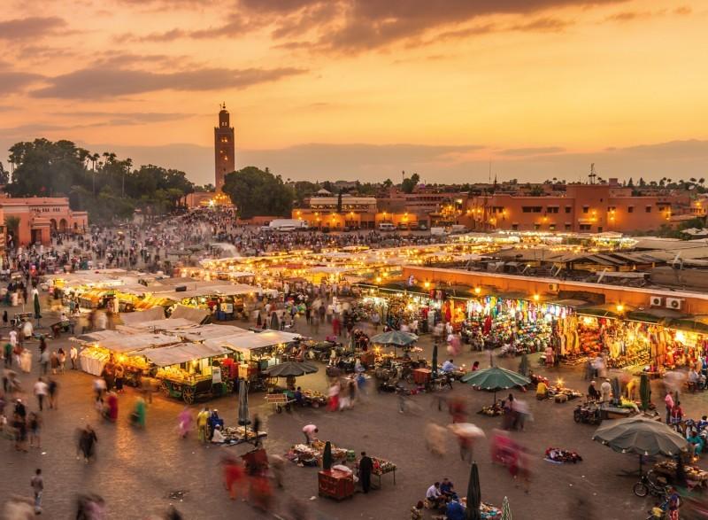 Product Wandeling Marrakech Medina met Nederlands- of Engelstalige gids - Een bezoek van 3 uur aan 3 bezienwaardigheden, souks en de Djemaa El Fna plein UNESCO Werelderfgoed sinds 2001