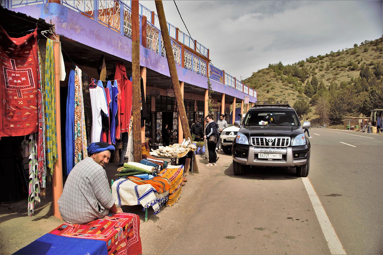 Selfdrive door Marokko