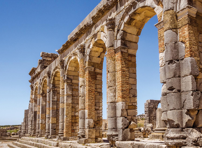 Dagexcursie naar de oude Romeinse ruïne van Volubilis en de medina van koningsstad Meknes