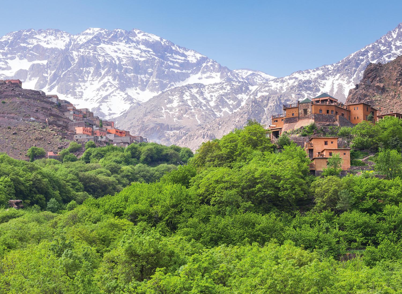 Dagexcursie Imlil - wandeling door en lunchen in het Atlasgebergte