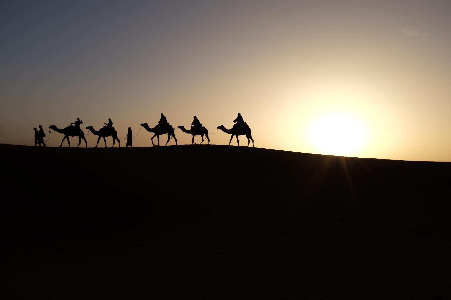 2 daagse tour naar de woestijn van M'hamid vanuit Marrakech