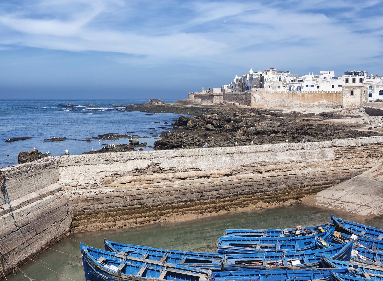 Veelzijdig Marokko tijdens deze privétour: Ondervind de prachtige kust, blauwe parel Essaouira, koningsstad Marrakech, het Atlasgebergte en een overnachting in de Sahara