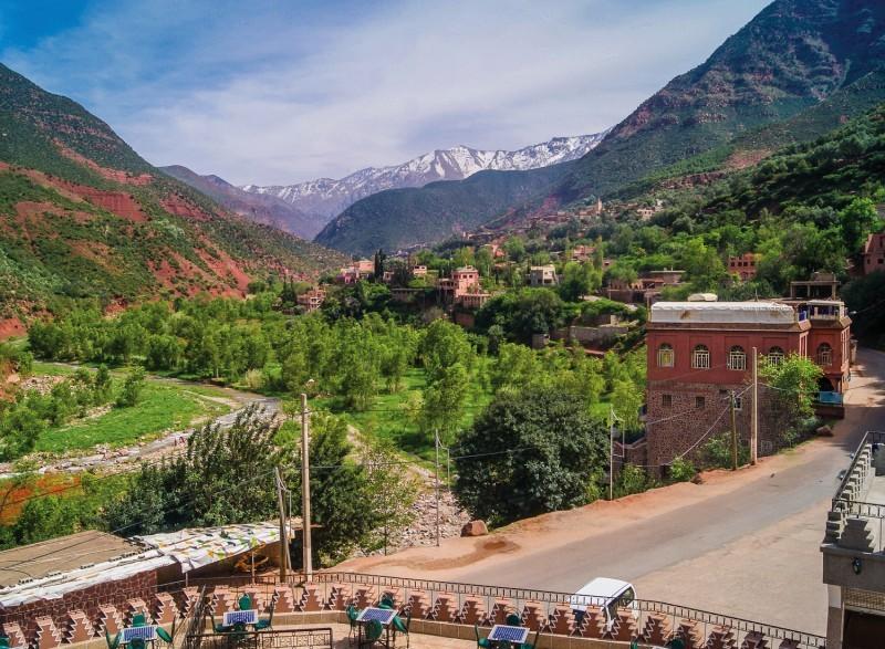 Product Dagexcursie Ourika & Setti Fatma vallei Atlasgebergte – met wandeling van 1,5 uur incl. lokale gids door watervallen, prachtige natuurgebied en lunchen aan de rivier