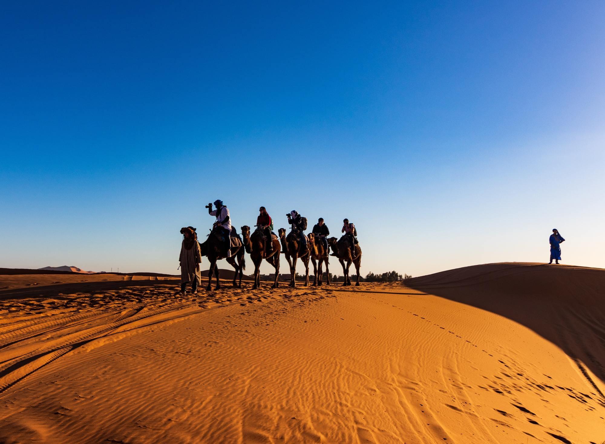 vanuit Agadir: privétour naar de woestijn van Chegaga via Marrakech en Ouarzazate