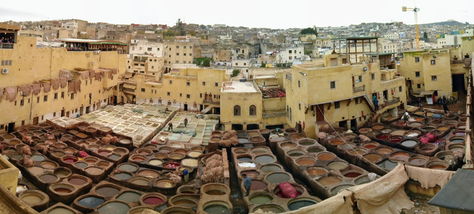 Fes, Volubilis en Meknes