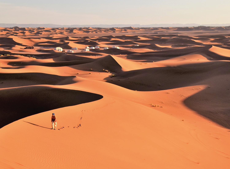3 daagse privé tour incl. een overnachting tussen de kloven van Todra en een overnachting in de saharawoestijn van Merzouga - Tentenkamp & kamelen