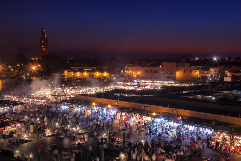Product Marrakech incl. kookcursus en via het Atlasgebergte naar Merzouga voor een overnachting in de woestijn
